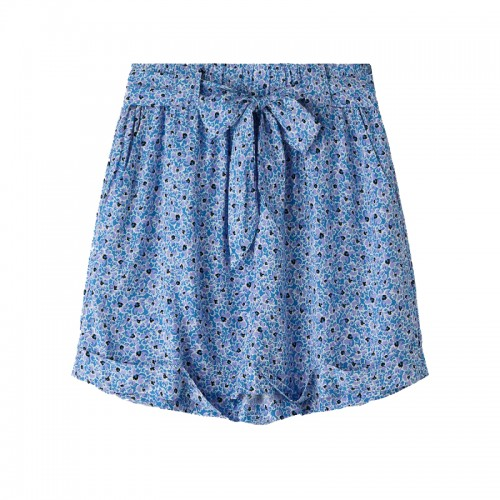 Moves By Minimum Blue Flower Shorts