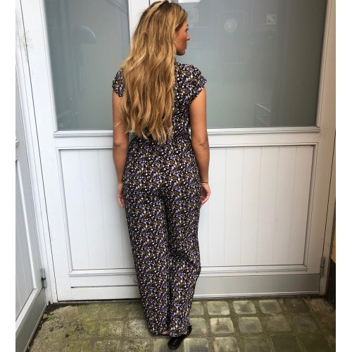 ICHI Long Flower Jumpsuit