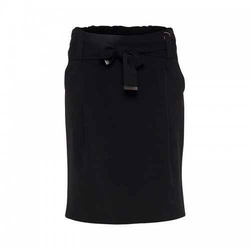 B.young black skirt