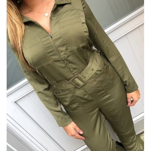Moves By Minimum Trivia jumpsuit army