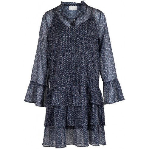 Neo Noir Iben Mosaic Dress Blue