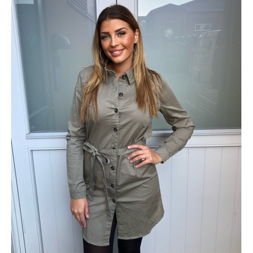 Sisters Point Freya dress/jacket khaki
