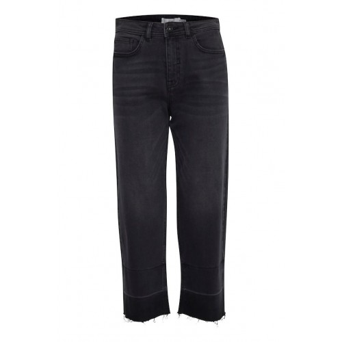 ICHI Washed Black Jeans