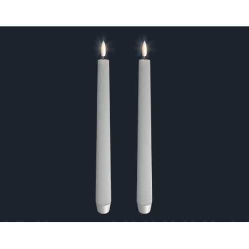 UYUNI led taper candle twin pack 28 cm