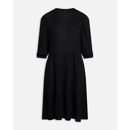 Sisters Point vini puff dress black