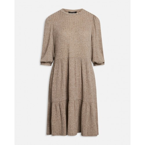 Sisters Point vini puff dress khaki