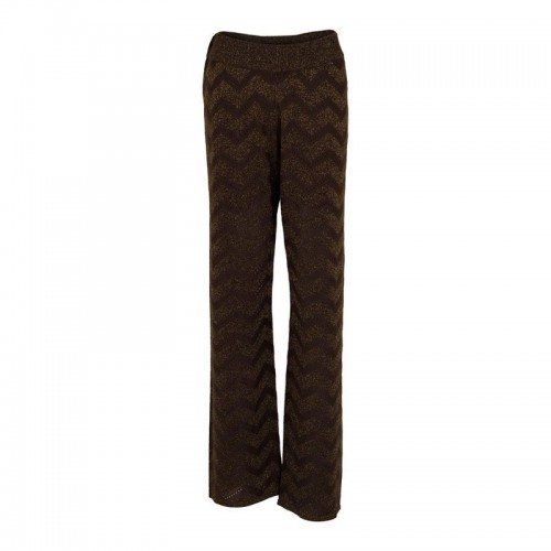 Neo Noir Ruby knit pants army