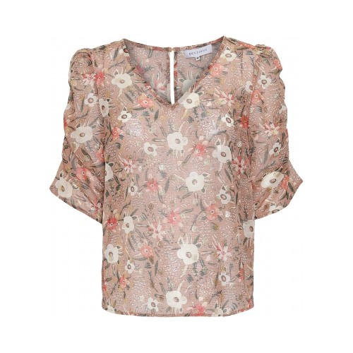 CONTINUE Chloé blouse puff gold
