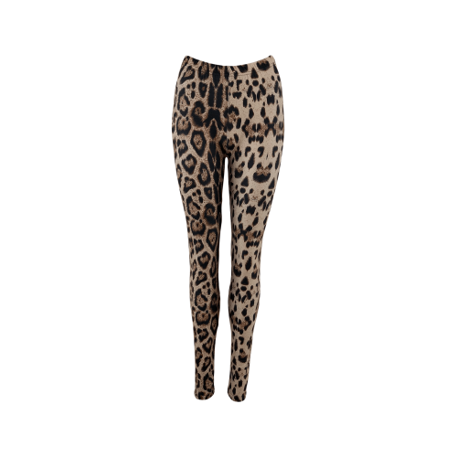 Black Colour Liz leo leggings