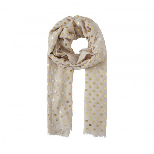 B.young gold dot scarf 129