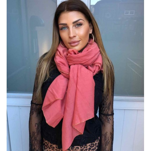 Black Colour EMMA scarf pepe rose
