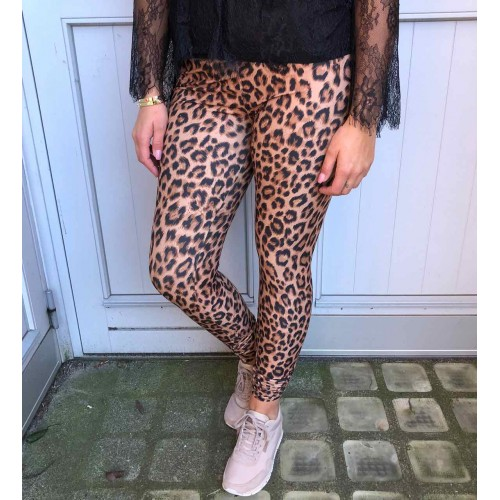 Black Colour Lynn brown leggings