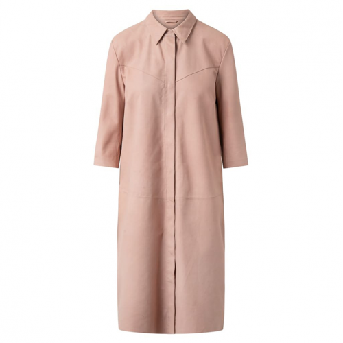 DEPECHE skind shirt/dress dusty rose