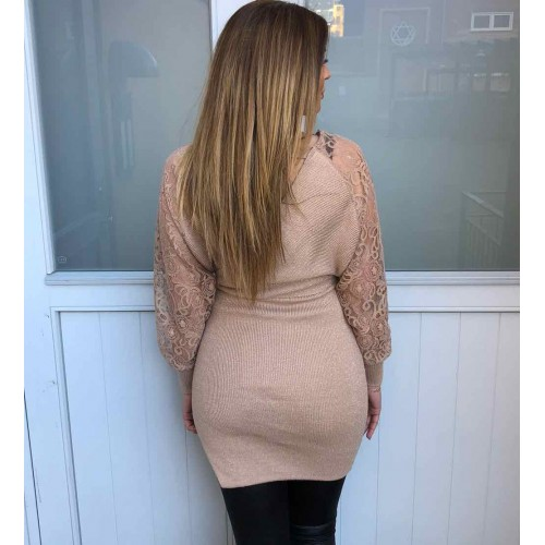Milano dress caramel