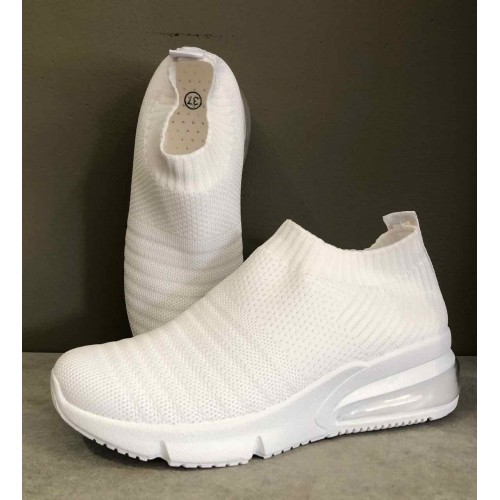 QNUZ Ea sneakers white
