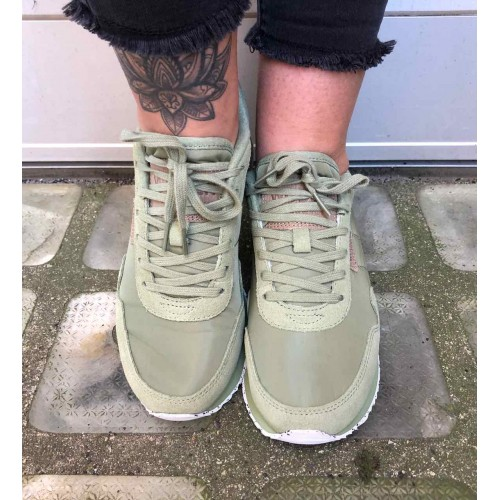 WODEN Nora sneakers Dusty olive