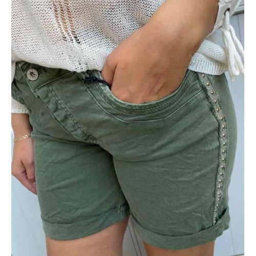 DEFINE Fraya shorts army