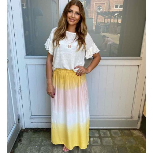 Sisters Point Idda skirt dip dye
