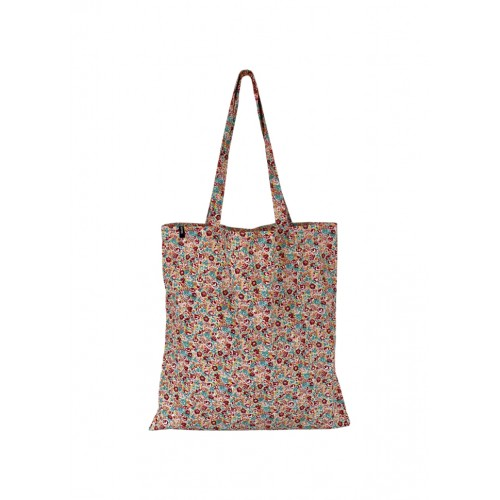 BLACK COLOUR Lulu blossom shopper red/yellow