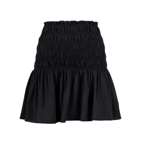 Neo Noir Ginger skirt sort