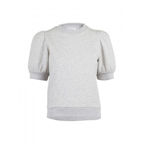 Neo Noir Baya sweat tee melange grey