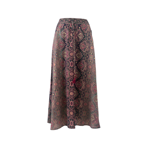 BLACK COLOUR Magnolia skirt pink