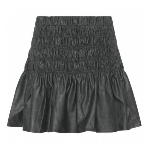 CONTINUE Julia pvc skirt black