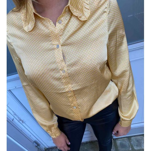 SISTERS POINT Vetra honey dot shirt