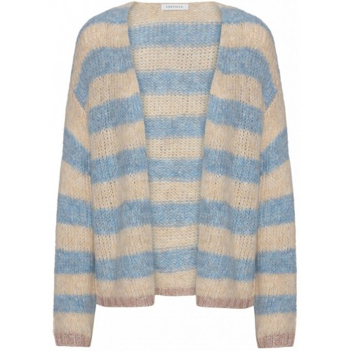 CONTINUE Caro cardigan blue