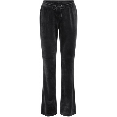 CONTINUE Joey velvet pants - black