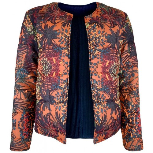 BLACK COLOUR Quilted jacket